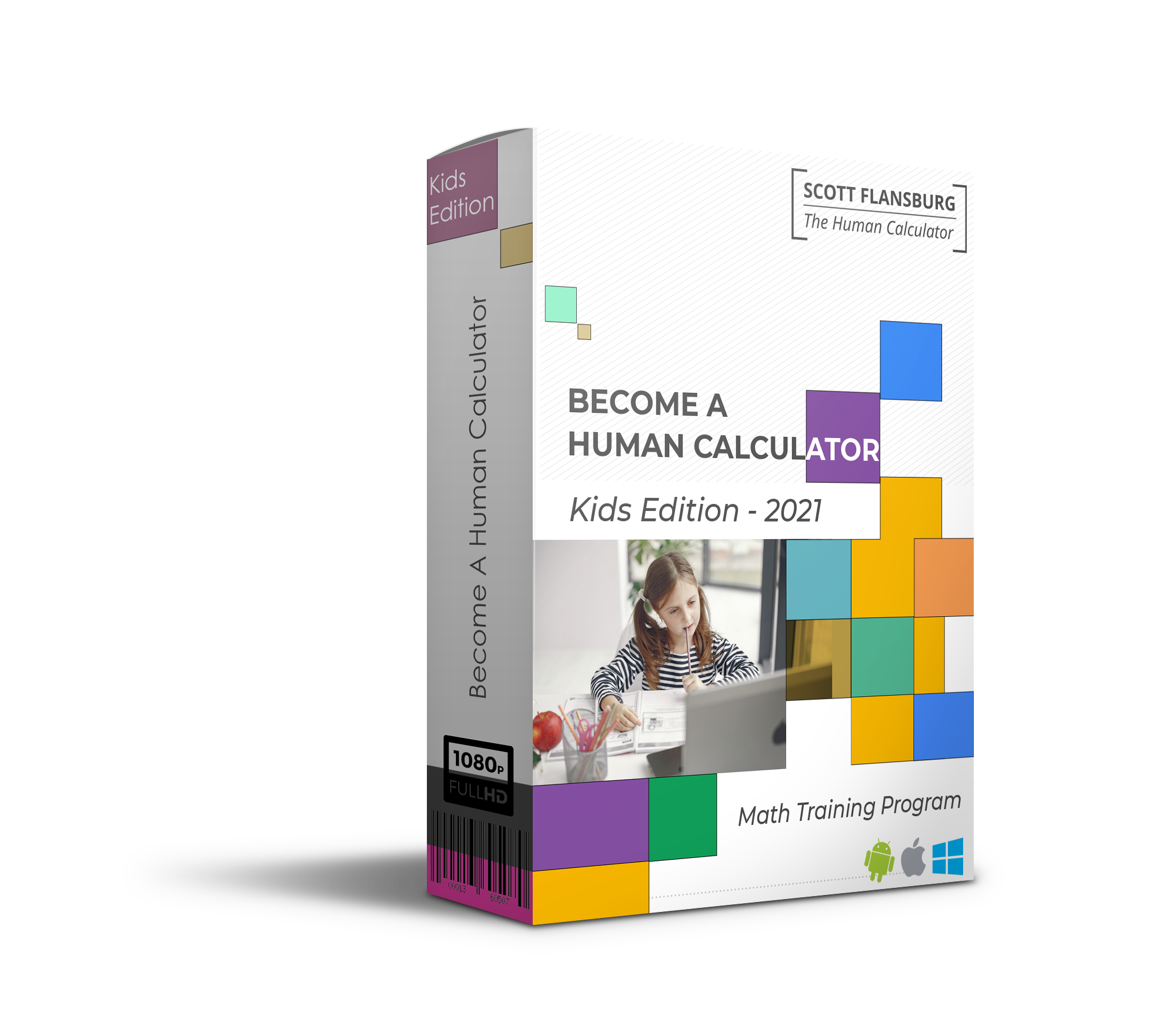 Become A Human Calculator - Kids Edition box