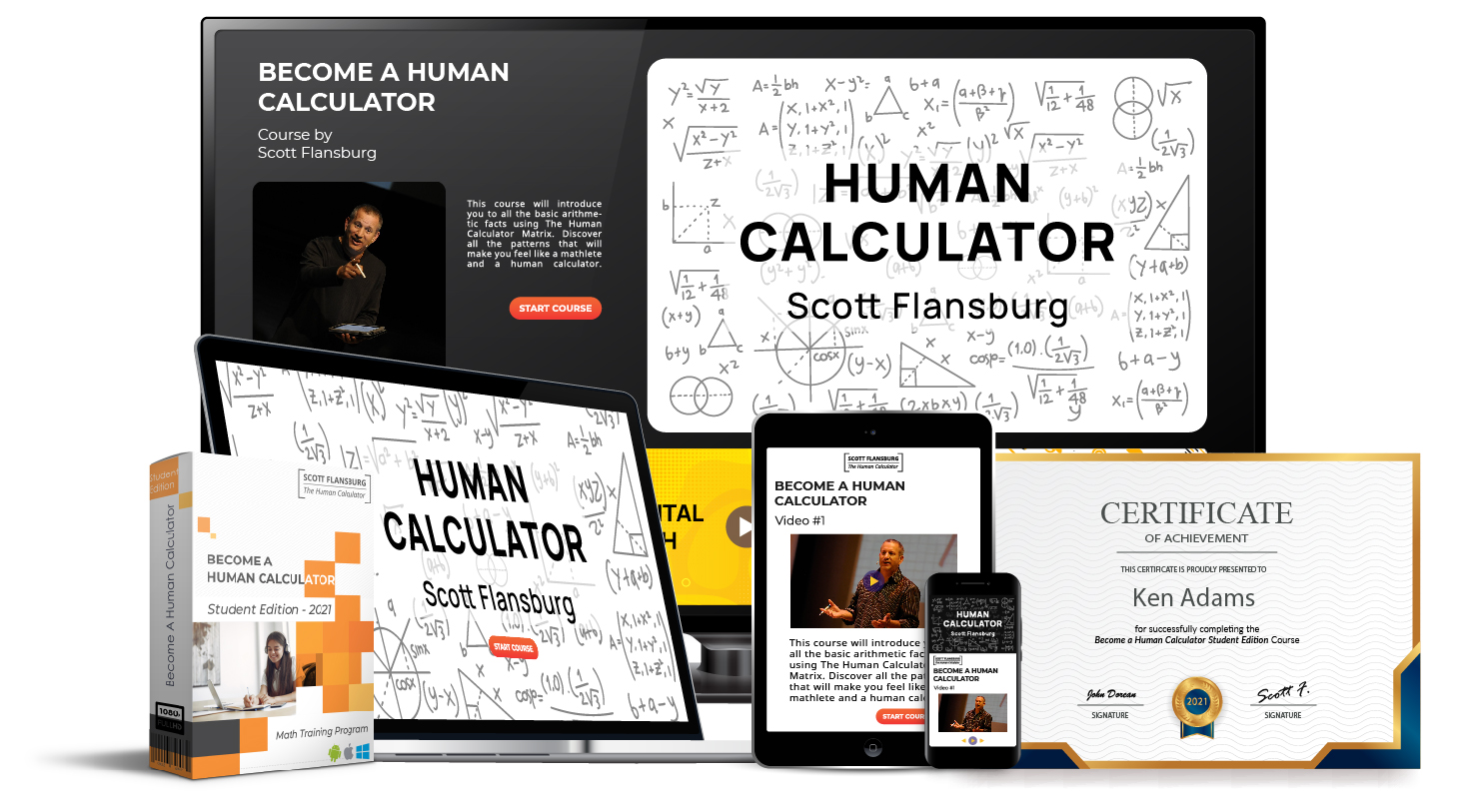 Become A Human Calculator - Student Edition Full Product