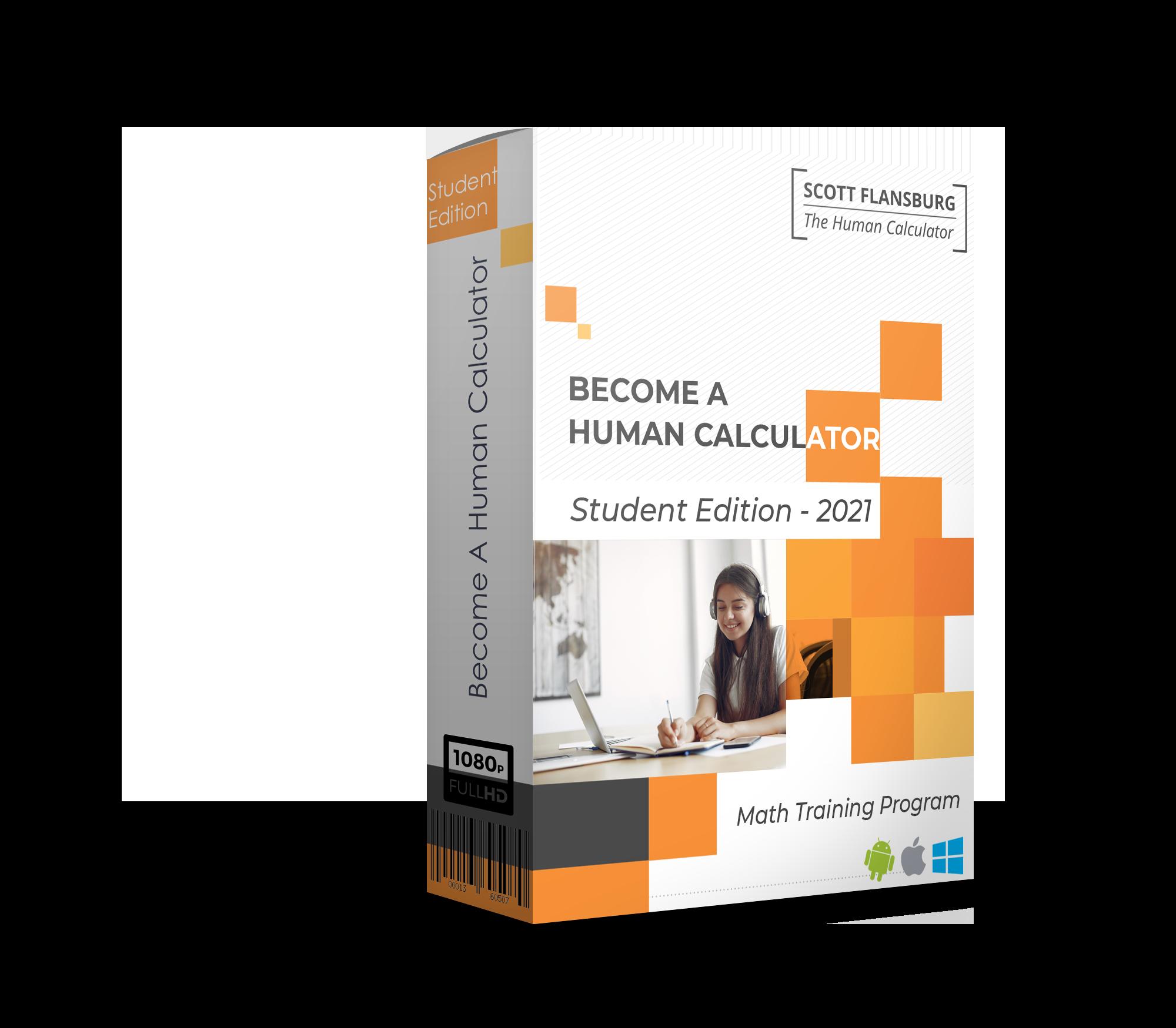 Become A Human Calculator - Student Edition