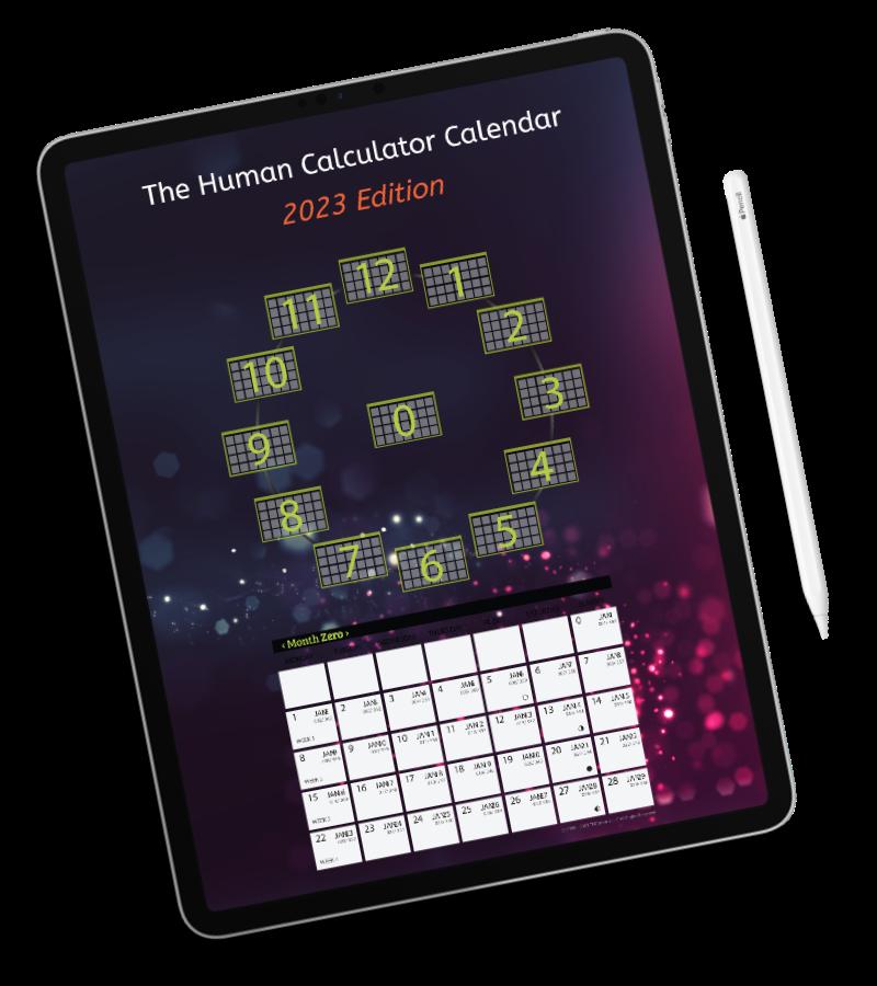 Human Calculator Calendar Ipad
